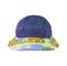 Front - 7671B-Ladies' Printed Flower Large Peak Hat