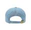 Back - 7610-Low Profile (Uns) Denim Garment Washed Cap