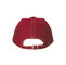 Back - 7640-Low Profile 6 Panel Brushed Cotton Washed Cap