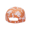 Back - 7655WY-Youth Washed Hawaiian Flower Print Cap