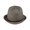 Back - 8930-Herringbone Fedora Hat