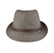 Front - 8930-Herringbone Fedora Hat