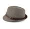 Side - 8930-Herringbone Fedora Hat