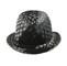 Back - 8936-Jacquard Fedora Hat