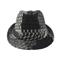 Front - 8936-Jacquard Fedora Hat