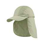 Juniper Taslon UV Cap w/ Detachable Flap