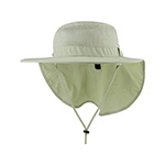 Juniper Taslon UV Large Bill Hat w/ Roll-Up Flap