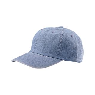 7630Y-Low Profile (Uns) Denim Washed Cap