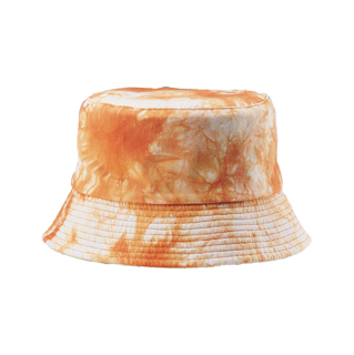 7893Y-LADIES'TIE DYED&WASHED BUCKET HAT