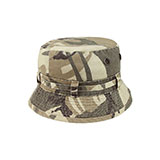 COTTON TWILL WASHED BUCKET HAT