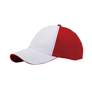 6909D-6 Panel Light Weight Brushed Cotton Twill Cap