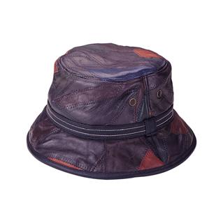 2008-Multi-Color Cut & Sewn Lambskin Bucket Hat