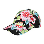 Low Profile (Unstructured) Floral Cap