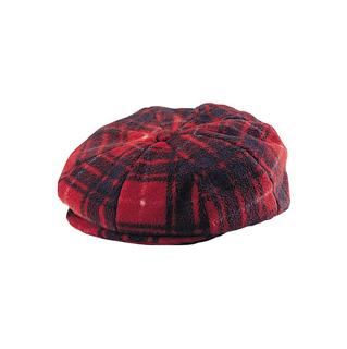 3027-Fleece Winter Newsboy Hat