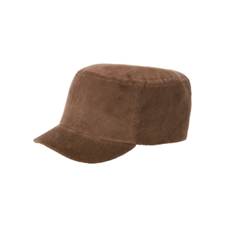 3502-Corduroy Fashion Fitted Engineer Cap