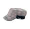 Main - 3513-Fashion Plaid Winter Army Cap