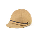 Ladies' Wool Jockey Cap