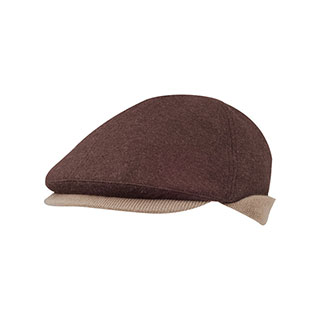 3516-Wool Ivy Cap W/Warmer Flap
