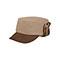 Main - 3520-Knitted Army Cap W/Warmer Flap