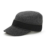 Infinity Selecitons Wool Blend Army Cap