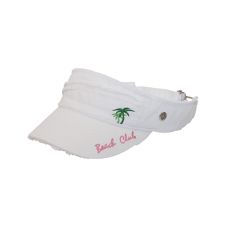 6f0dee64d63b3 Wholesale Ladies' Twill Visor - Specialty Visors (floral, Denim, Fashion,  Souvenir - Visors - Mega Cap Inc