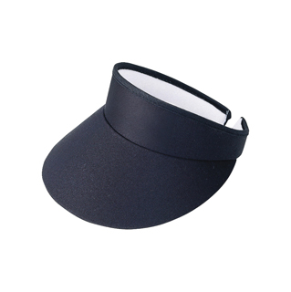 4103-High Crown Cotton Twill Golf Clip-On Visor