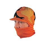 Camouflage Knitted Beanie W/Neck Gaiter