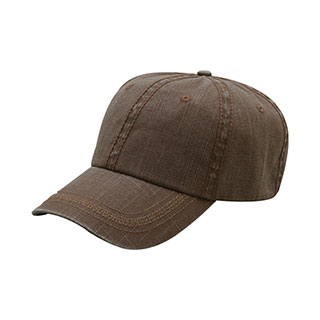 6899-PIGMENT DYED SLUB COTTON WASHED CAP