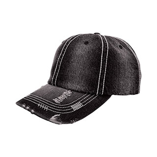 b5a1a97d07e Wholesale Distressed Heavy Washed Denim Cap - Vintage Fashion Caps - Baseball  Caps - Mega Cap Inc