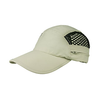 J7258-Taslon UV Cap w/Hidden Flap