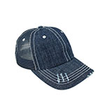 Denim Mesh Cap