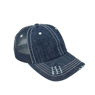 Wholesale Denim Mesh Cap - Vintage Fashion Caps - Baseball Caps - Mega Cap  Inc 07682c86d0b8