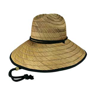 8030A-Lifeguard Straw Hat