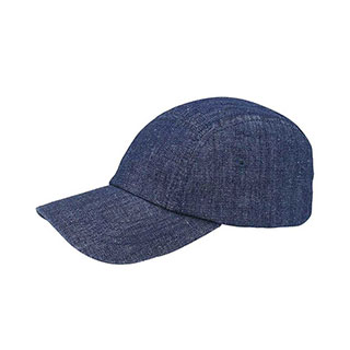9009C-5 Panel Washed Denim Cap