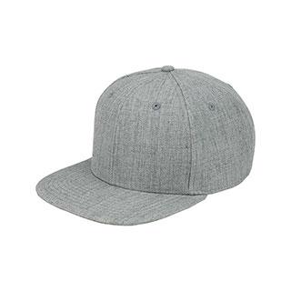 6996E-Wool Flat Bill Snapback Cap