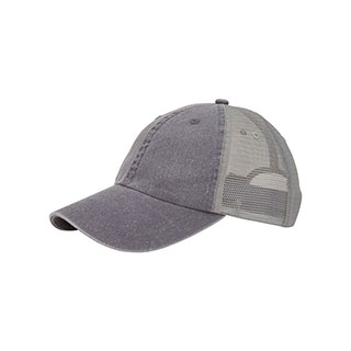 51a2eff9 Wholesale Washed Pigment Dyed Twill Trucker Cap - Washed Caps - Baseball  Caps - Mega Cap Inc