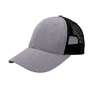 6904M-Heather Suiting Trucker Cap