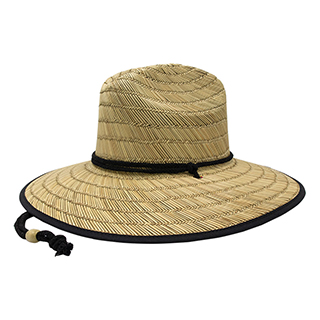 8030C-Lifeguard Straw Hat