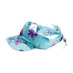 Flower Print Visor/Kerchief