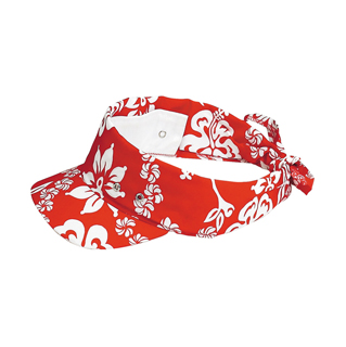 e7fa5e2c73d78 Wholesale Hawaiian Flower Print Visor/Kerchief - Specialty Visors (floral,  Denim, Fashion, Souvenir - Visors - Mega Cap Inc