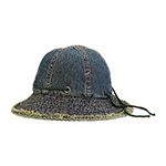 Washed Denim Hat