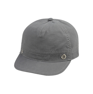 6552-Ladies' Brushed Canvas Fashion Cap