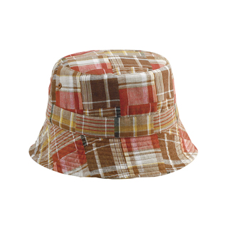6571Y-Girls' Reversible Twill Bucket Hat