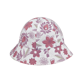 6577-Ladies' Floral Bucket Hat