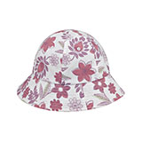 Girl's Floral Bucket Hat