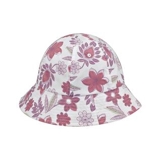 6577Y-Girl's Floral Bucket Hat