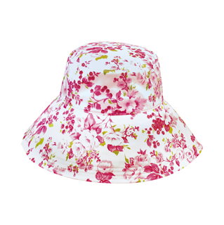 6580-Ladies' Wide Brim Bucket Hat