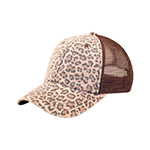Low Profile (Soft Str) Canvas Leopard Print Cap