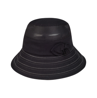 6588-Ladies' Linen/Mesh Fashion Bucket Hat