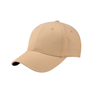 6860-Mega Flex Low Profile Washed Twill Fitted Cap